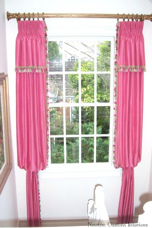 Bishop Sleeve Panels With Valance Overlay