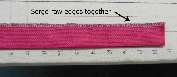 fabric-strip-serged