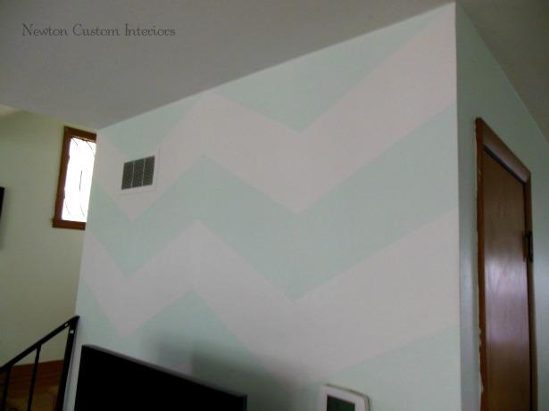 Cottage-chevron-wall