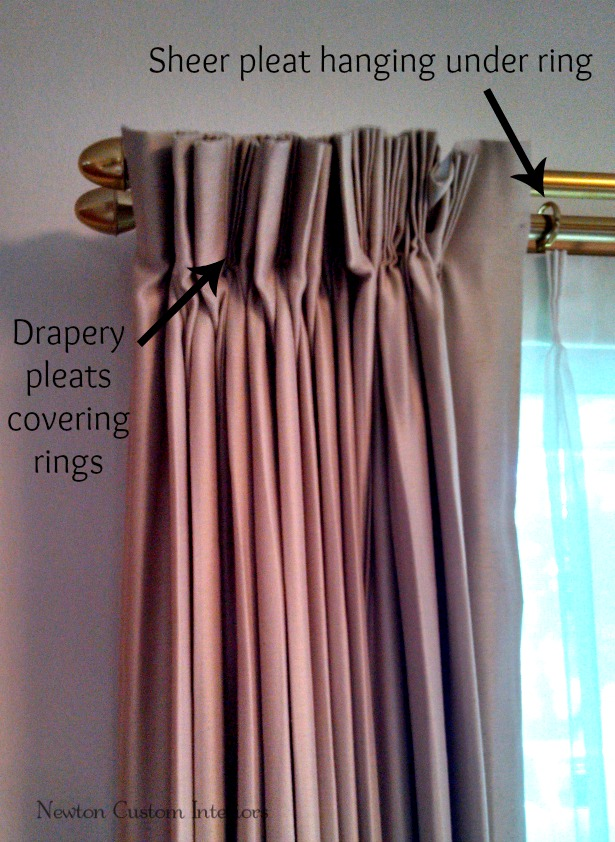 Drapery-pleat-close-up
