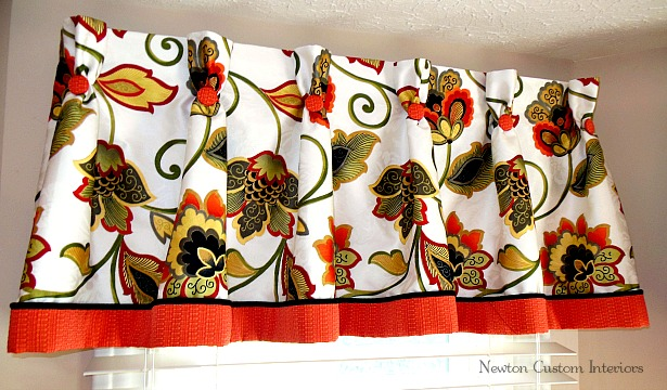Pleated-valance-with-cording