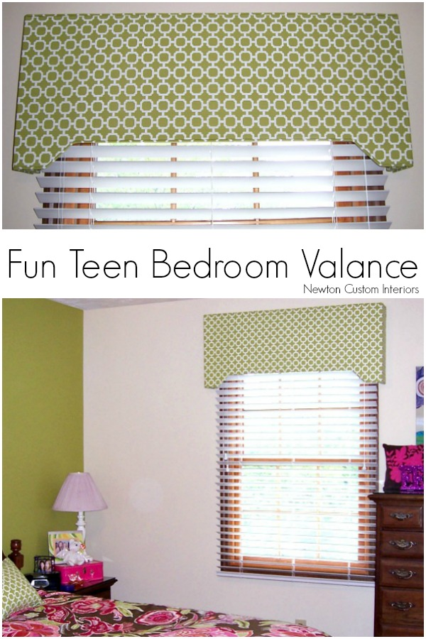 Fun Teen Bedroom Valance