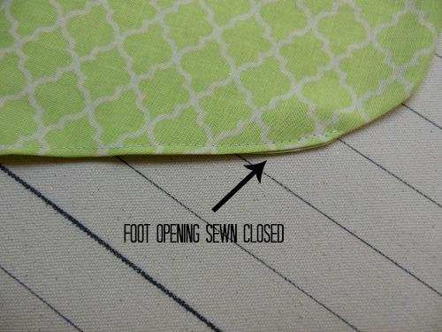 stocking-foot-opening-sewn