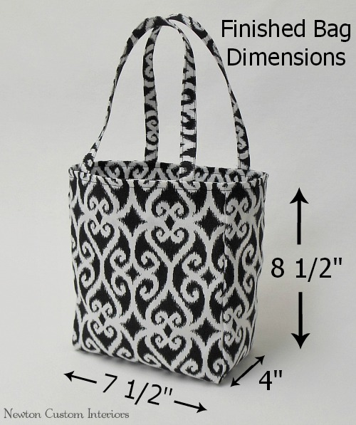 sew many ways guest post easy tote bag tutorial. Black Bedroom Furniture Sets. Home Design Ideas