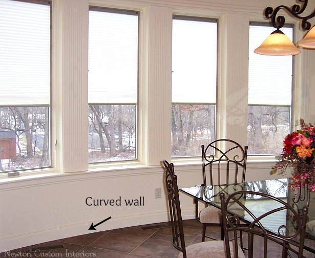 Curved-wall