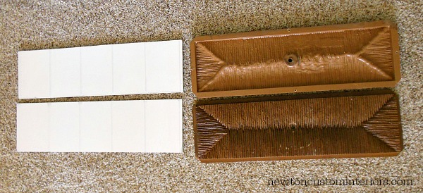 How To Paint Furniture - new beadboard drawer inserts