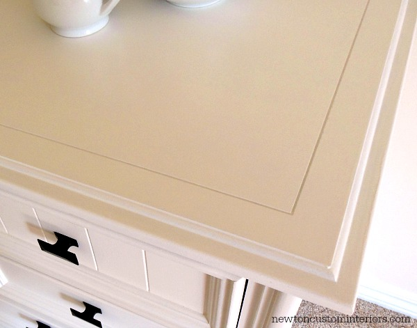 How To Paint Furniture - smooth finish