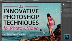 25 photoshop techniques