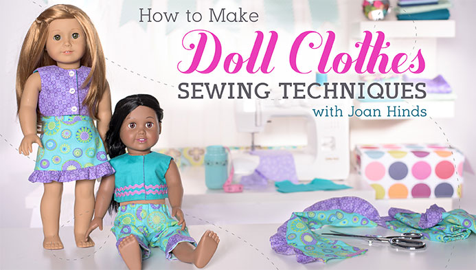 how to make doll clothes