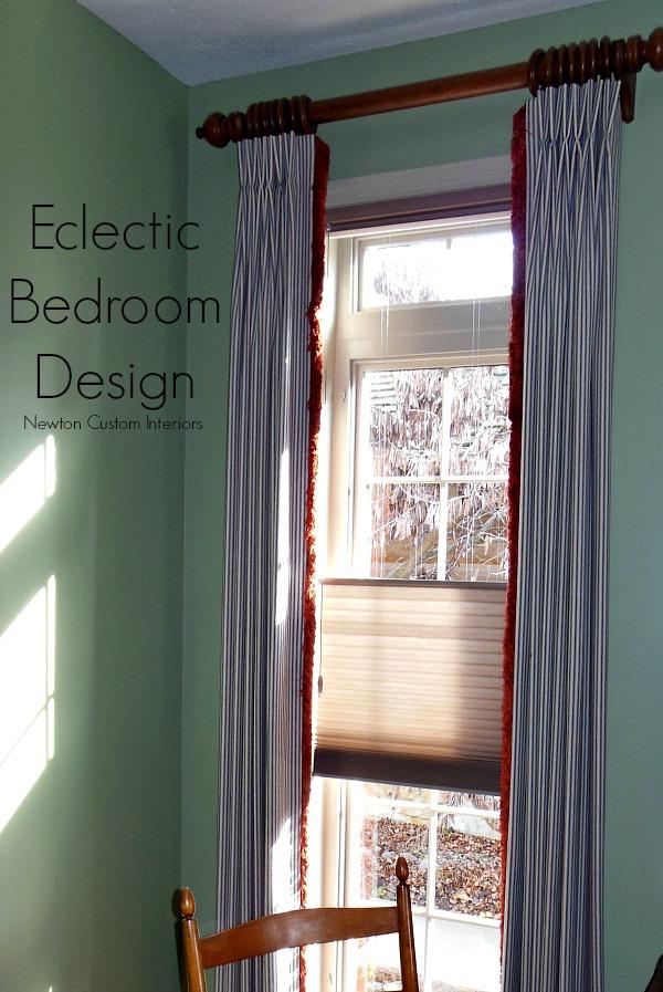 Eclectic Bedroom Design from NewtonCustomInteriors.com