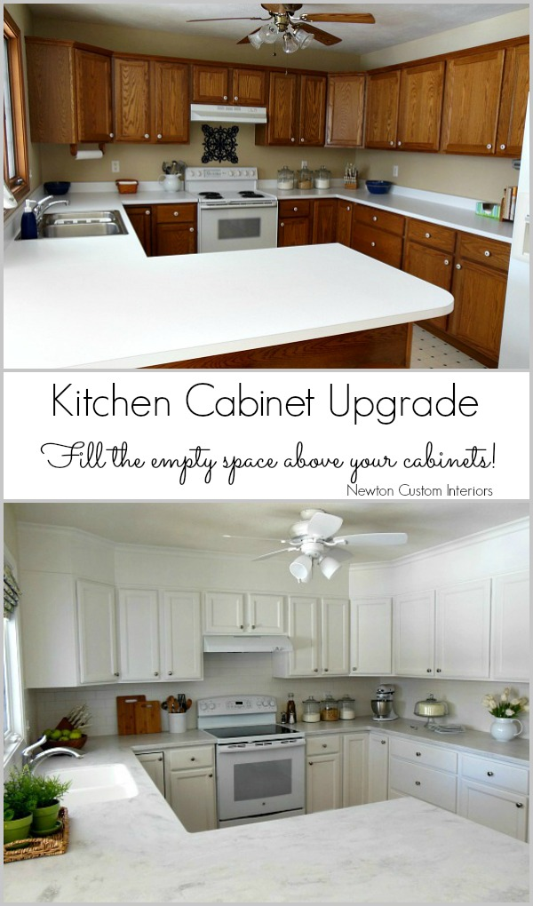 Kitchen Cabinet Upgrade from NewtonCustomInteriors.com