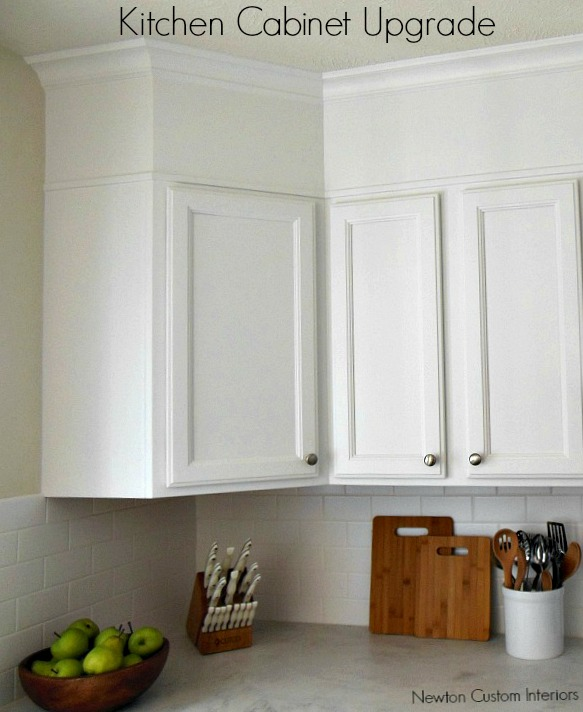Empty Kitchen Cupboard: Kitchen Cabinet Upgrade