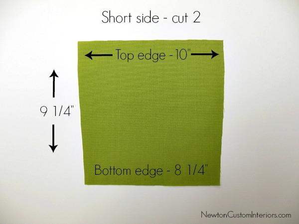 short side piece