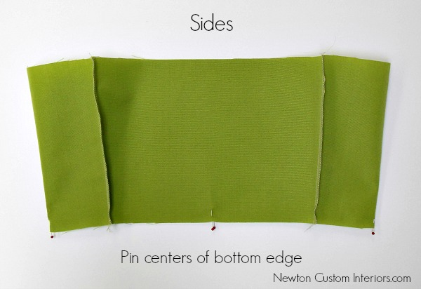 sides pinned