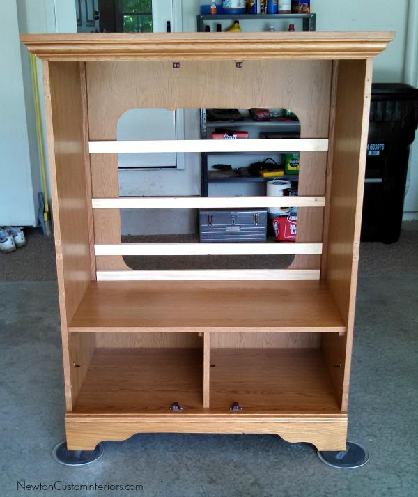 tv cabinet back