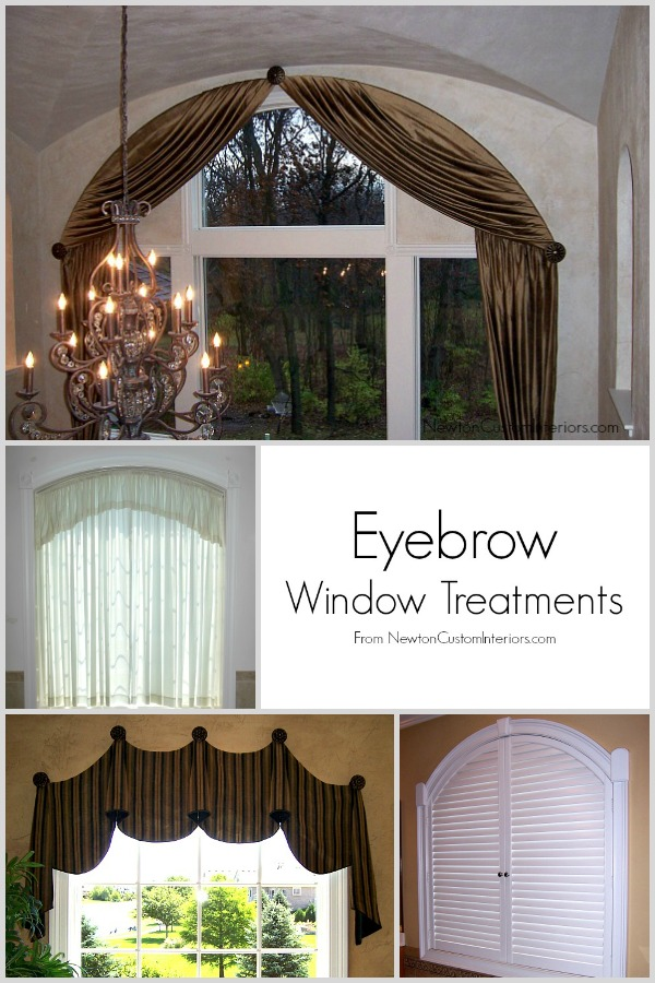eyebrow window treatments eyebrow arch newton custom interiors eyebrow window treatments from newtoncustominteriorscom