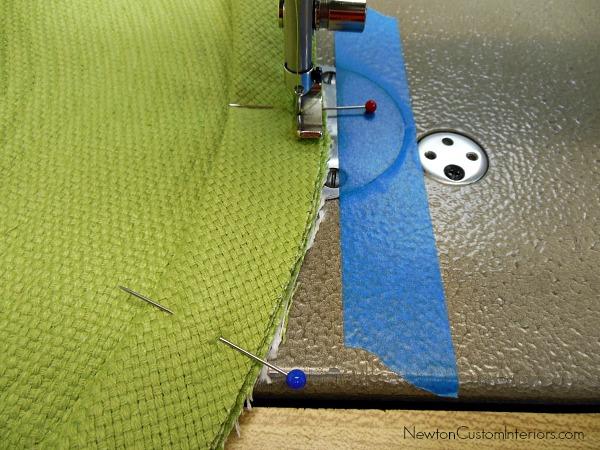 place mat bias binding sewn