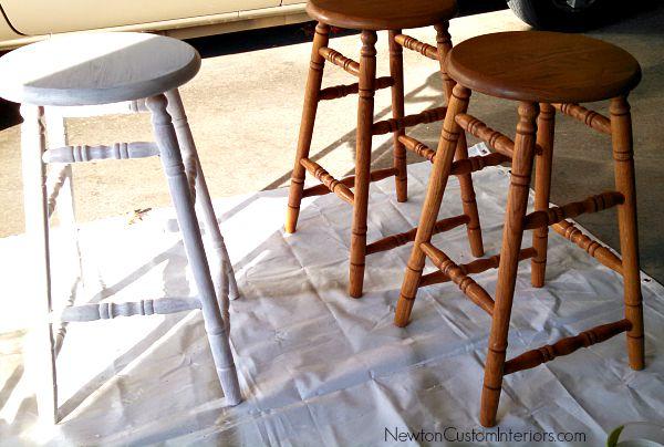 stools primed