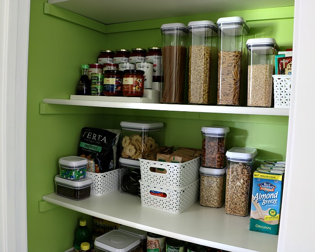 How To Organize A Pantry - Multi-tier Shelf