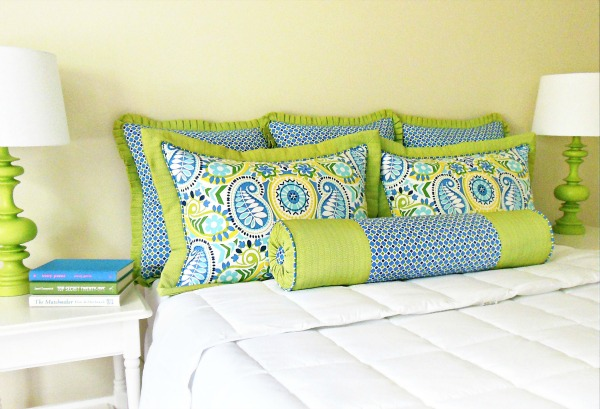 Custom Bedding - Decorative Shams & Bolsters