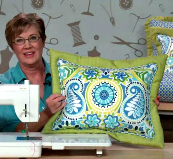 flanged pillow sham