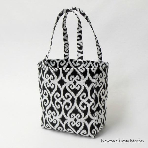 Easy Tote Bag Tutorial - Newton Custom Interiors
