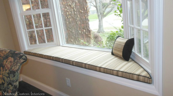 Bay Window Seat Cushion Newton Custom Interiors