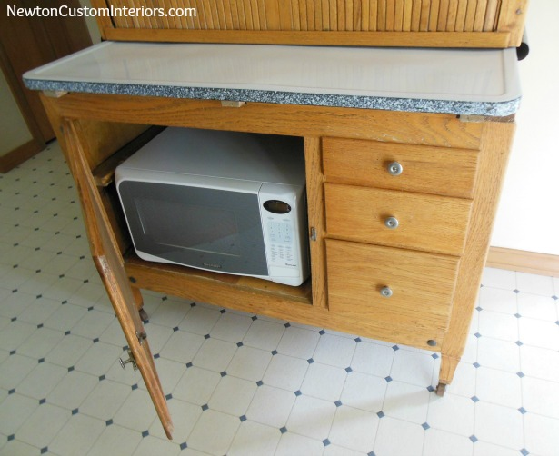 Hoosier Cabinet Makeover - Newton Custom Interiors