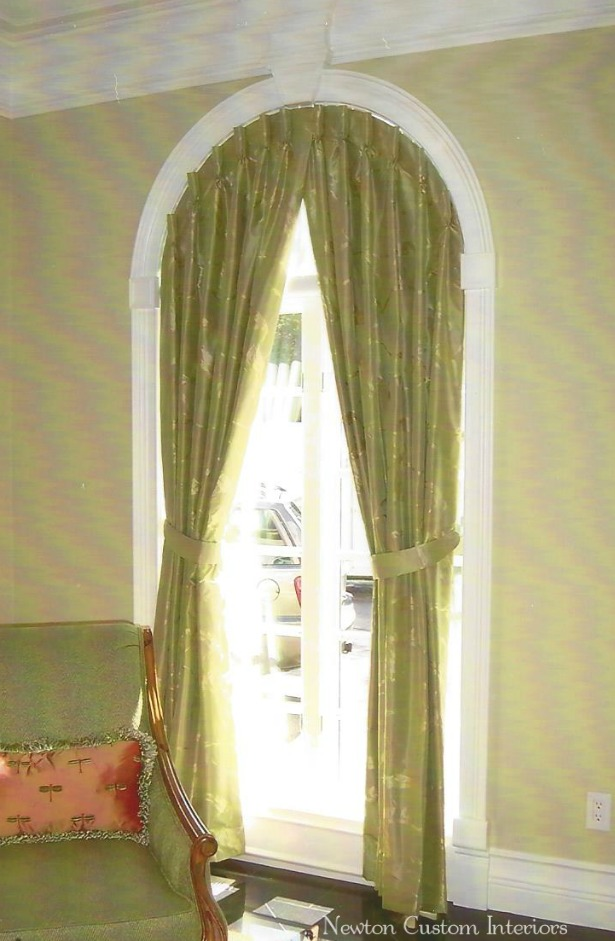 Arched-window-drapery