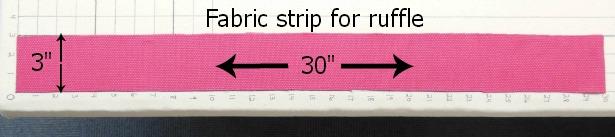 Fabri-strip-for-ruffle