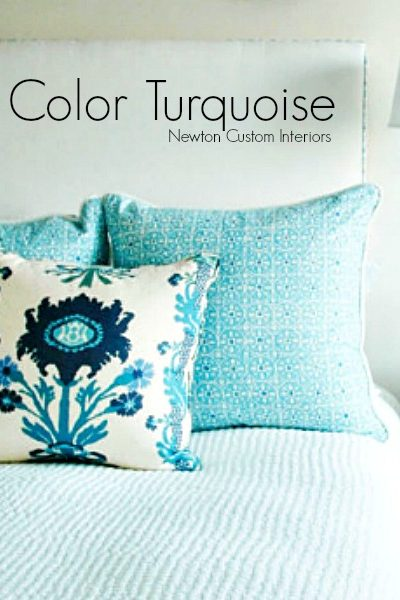 The Color Turquoise