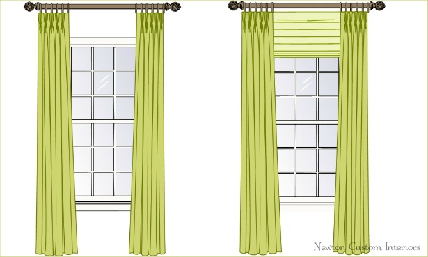 The Best Way To Hang Draperies Or Curtains Newton Custom Interiors
