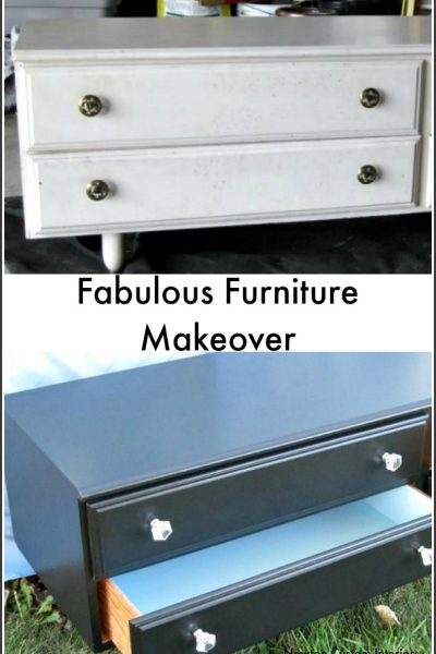 Fabulous Furniture Makeover