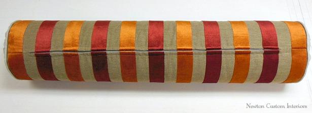 how to put a zipper in a pillow newton custom interiors