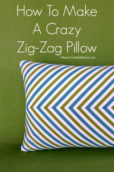 Zig-Zag Pillow