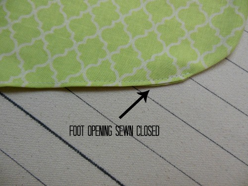 stocking-foot-opening-sewn