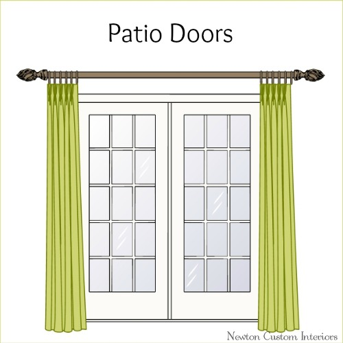 Patio doors newton custom interiors for Custom patio doors