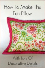 Flanged Pillow With An Overlay