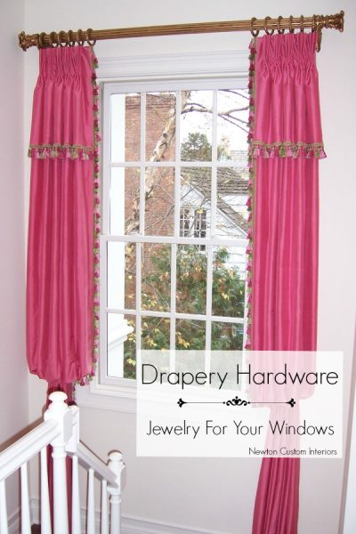 Drapery Hardware – Like Jewelry For Your Windows