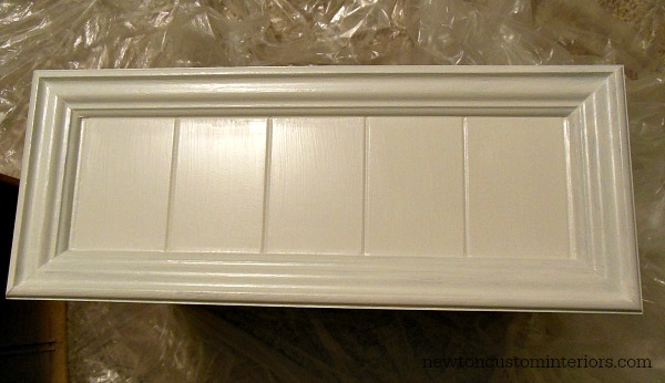 How To Paint Furniture - new inserts painted