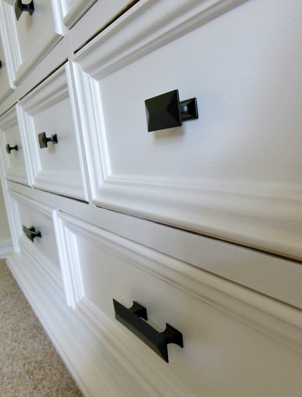 How To Paint Furniture - new Hickory Hardware drawer knobs and handles