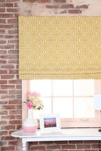 Sewing Custom Roman Shades #1