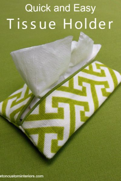 Quick and Easy Tissue Holder