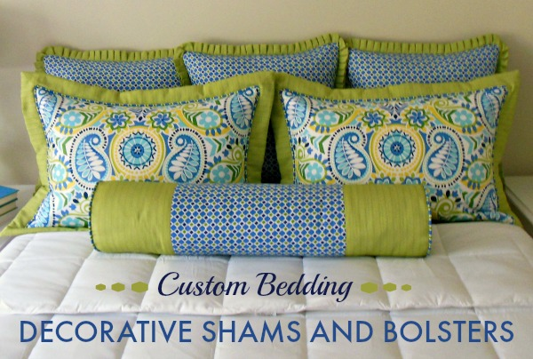 Craftsy Class - Custom Bedding - Decorative Shams & Bolsters