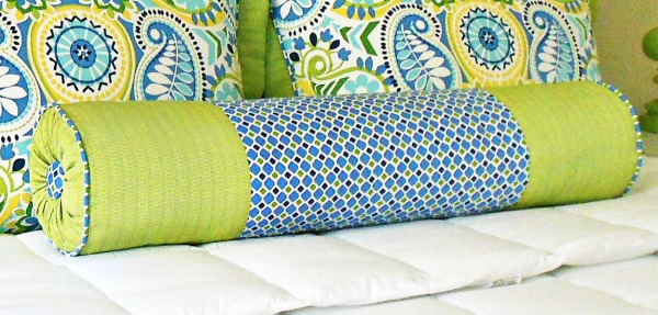 Learn how to make a bolster pillow.