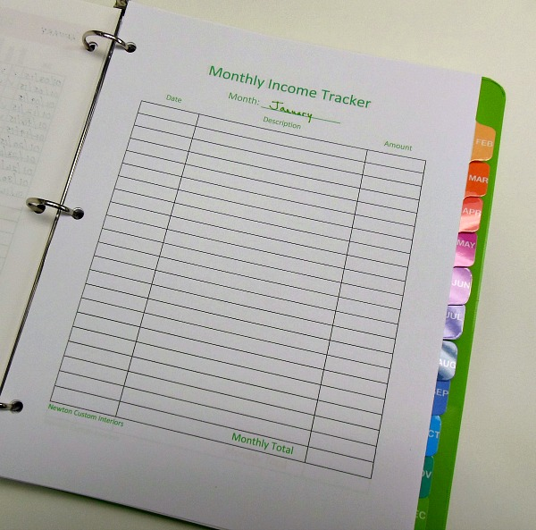 monthly-income-tracker