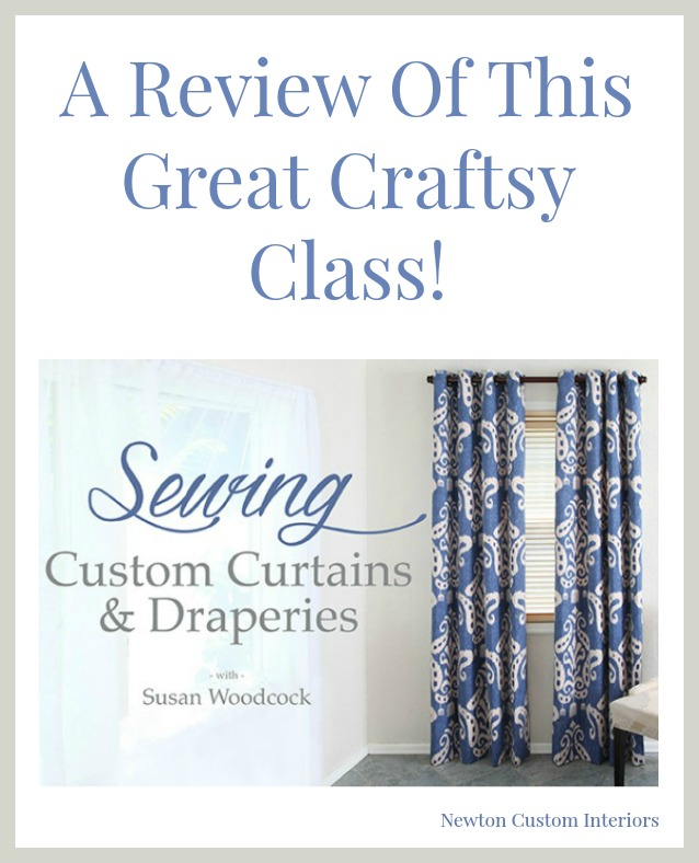 Sewing Custom Curtains & Draperies