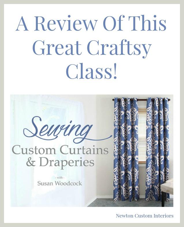 Sewing Custom Curtains & Draperies
