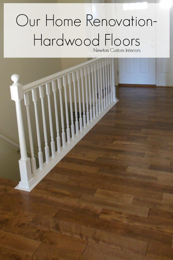 Our Home Renovation – Hardwood Floors