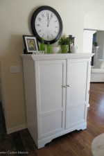 Kitchen Reveal – TV Cabinet Upcycle